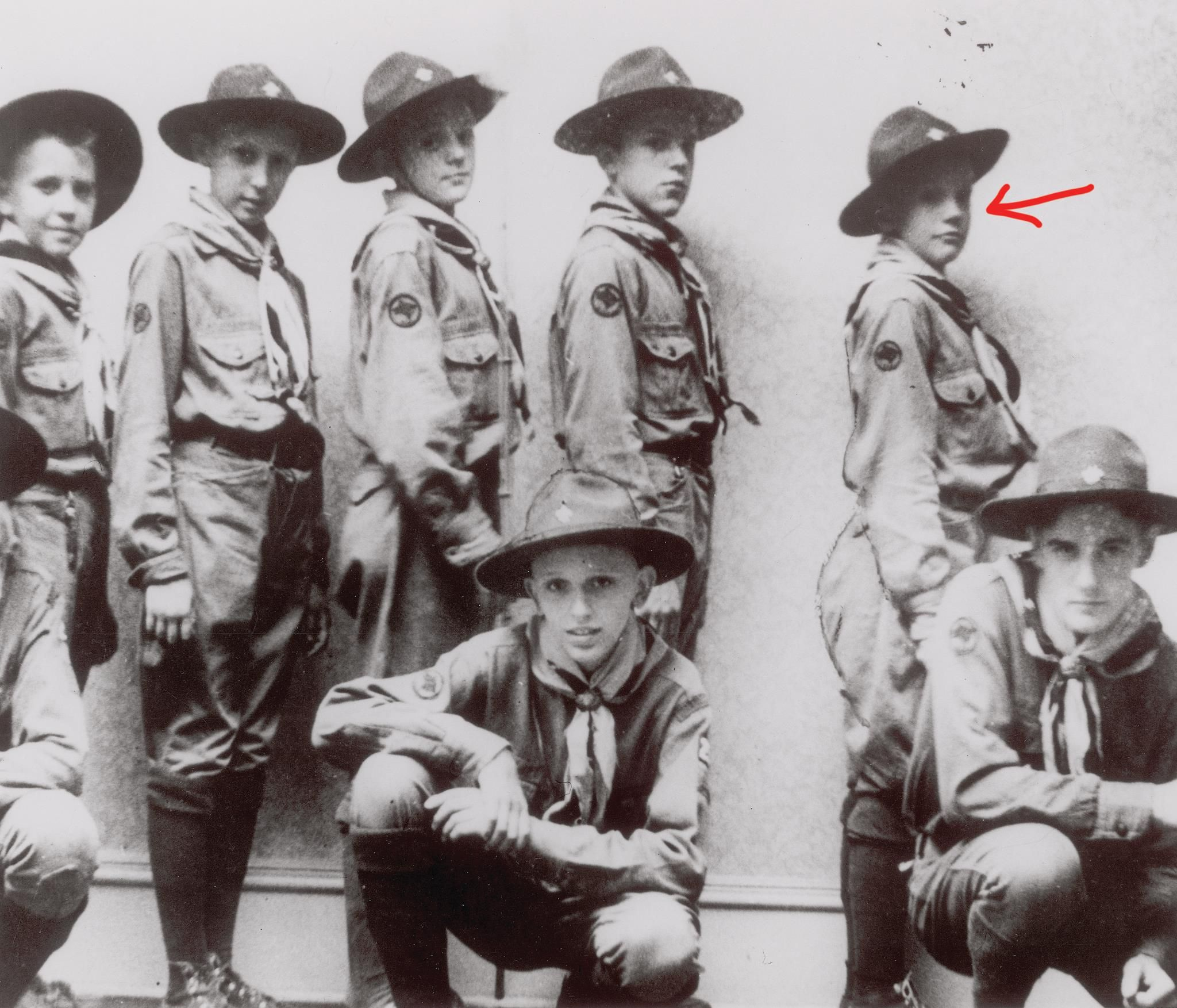 astronauts that were boy scouts - HD 2048×1753