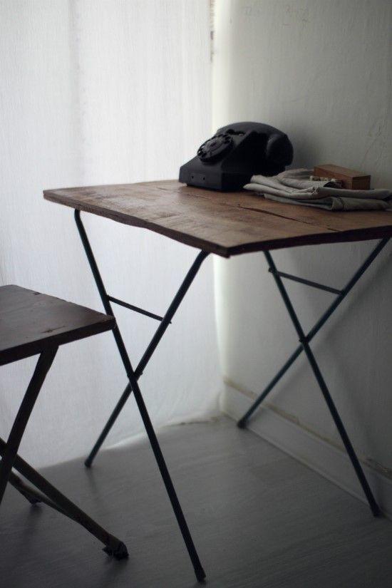 마니아 컬럼(리빙) 빈티지 고재로 만든 테이블- DIY가구만들기 ...