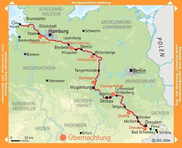 Elberadweg Fahrradurlaub Radtouren Radtour