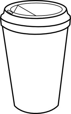Coloring Pages On Pinterest Clip Art Drawings Of And Coffee Cups Coffee Cup Drawing Coffee Cup Art Coffee Theme