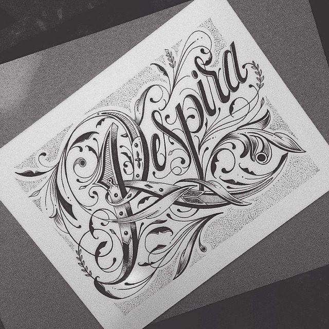 Respira Estilos de letras, Graffitis letras, Diseños de