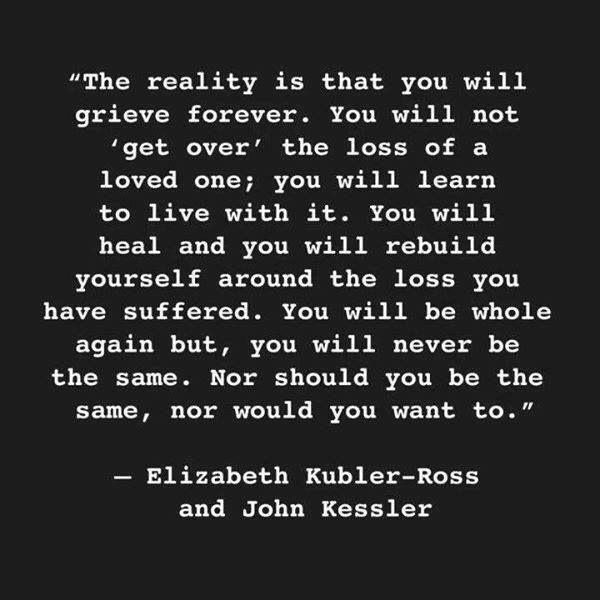 Grief. Elizabeth Kubler-Ross and John Kessler | Inspiration ...