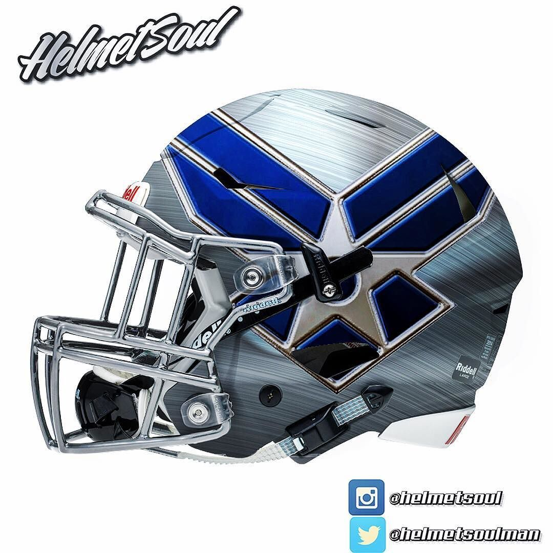 Air Force Falcons College football helmets, Mini