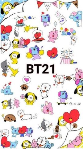BT21 Wallpapers - WallpaperSafari