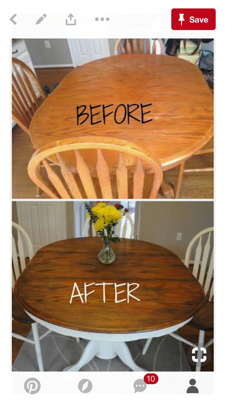 Esstisch ideen einrichten pin von sonja rünzi auf pimped old furniture  pinterest  tisch