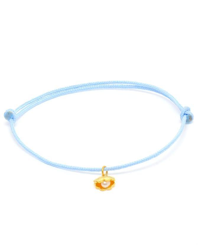 MARIE HÉLÈNE DE TAILLAC | 'Shell' 18k Gold Charm Bracelet
