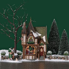 Department 56 Products 1 Royal Tree Court View Lighted Buildings Holiday Village Dept 56 Dickens Village Dickens Village