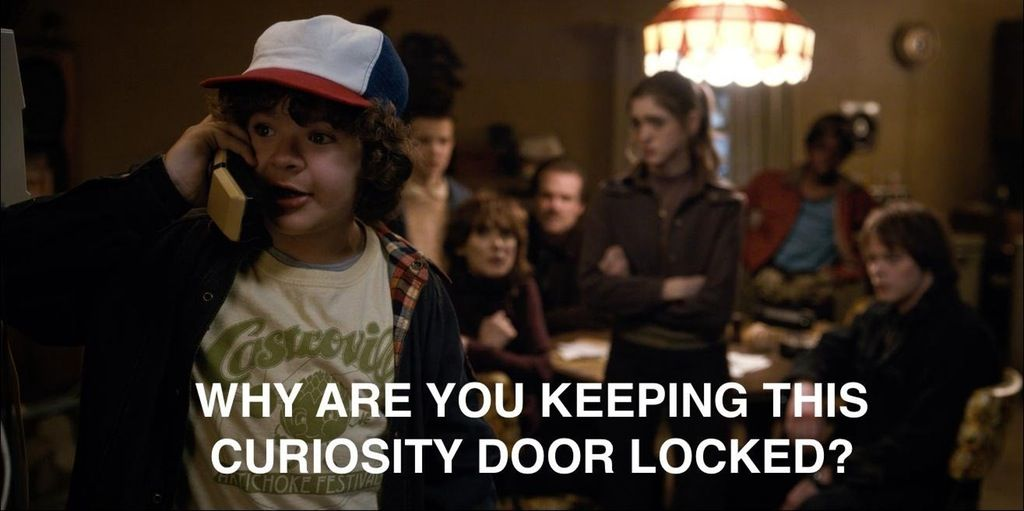 For Everyone Whou0027s A Little Bit In Love With Dustin From u201cStranger Thingsu201d Why are you keeping this curiosity door locked?  sc 1 st  Pinterest & Donu0027t lock curiosity doors | Stranger Things | Pinterest | Stranger ...