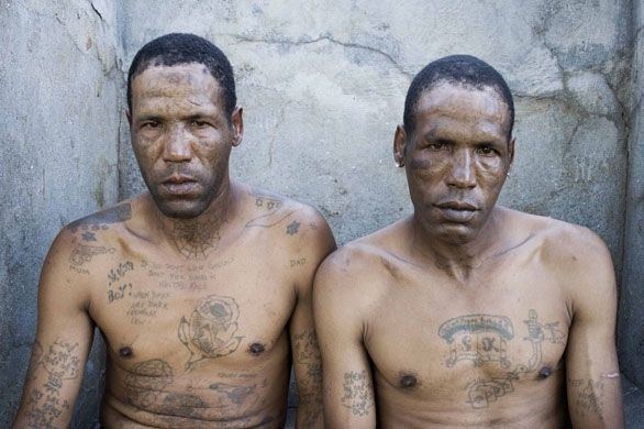 Pin By Campbell Scott On Faces Of The World Prison Tattoos Gang Gang Tattoos