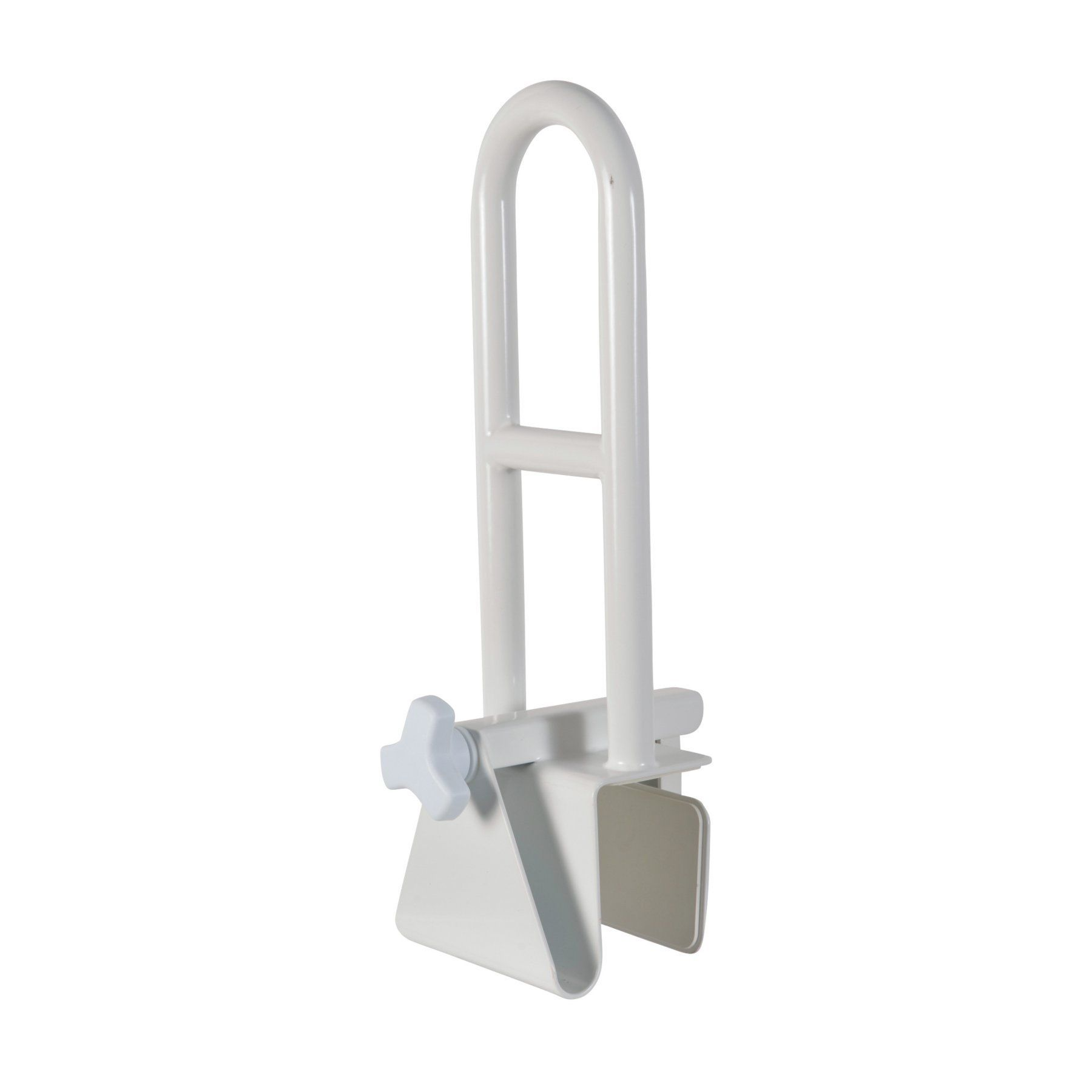 HealthSmart Easy Grip Portable Clamp on Tub Grab Bar - 521-1609 ...