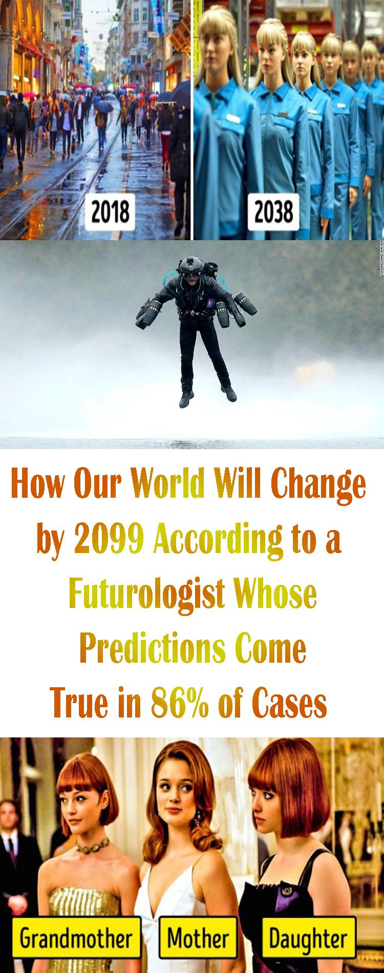 How Our World Will Change by2099 According toaFuturologist Whose Predictions Come True in86 ofCases