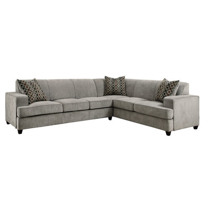 coaster tess sectional sofa et canape difference loukianos | thangs i like for my house ...