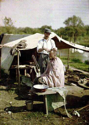 Ww1 Military Haircut Colorized History In Color Wwi World War