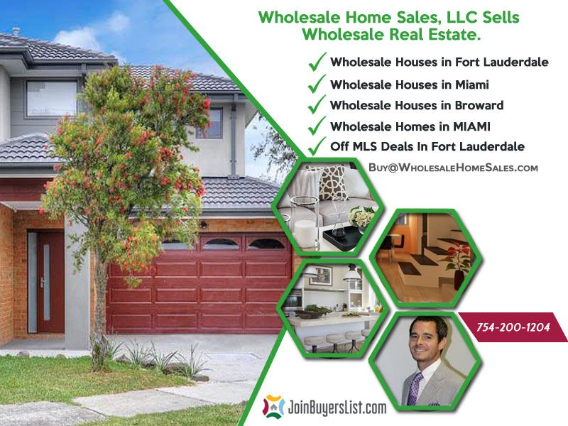 We Specializes In Locating And Selling Properties We Have Wholesale Homes In Broward County Rental Property In Miami Houses Wholesale Real Estate Sale House