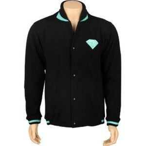 I just discovered this while shopping on Poshmark: Diamond Supply Co varsity jacket. Check it out! Price: $40 Size: S