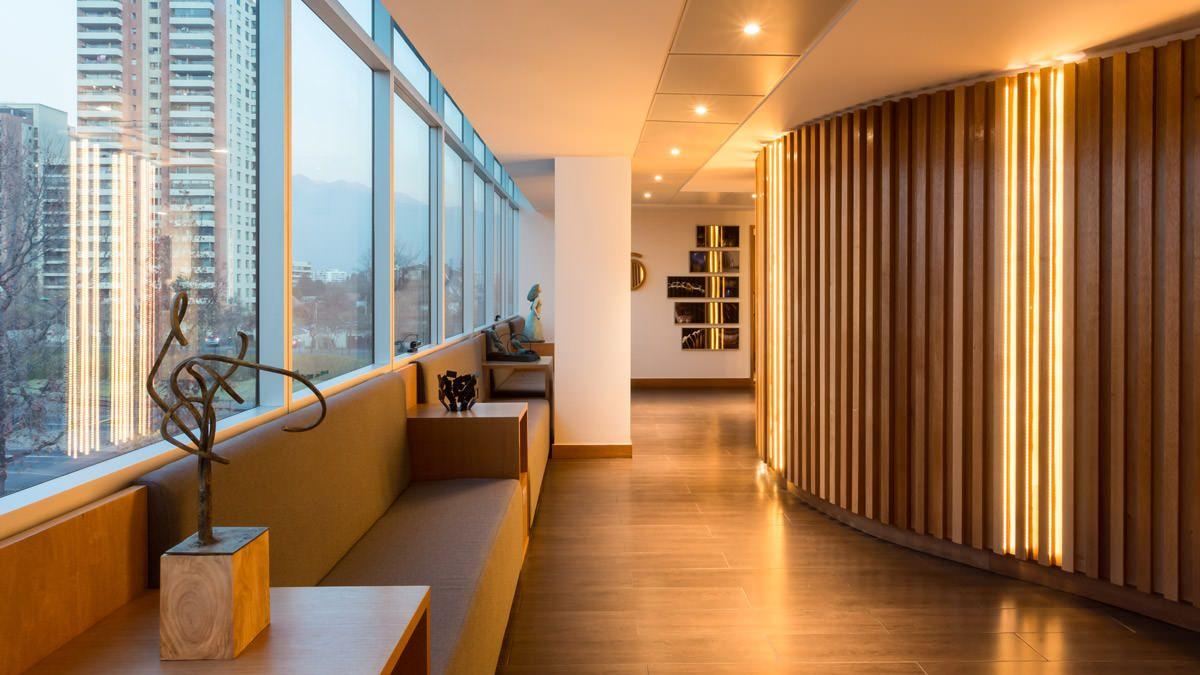 Sala de espera en el dise o de interiores del dise o de - Clinicas dentales diseno ...