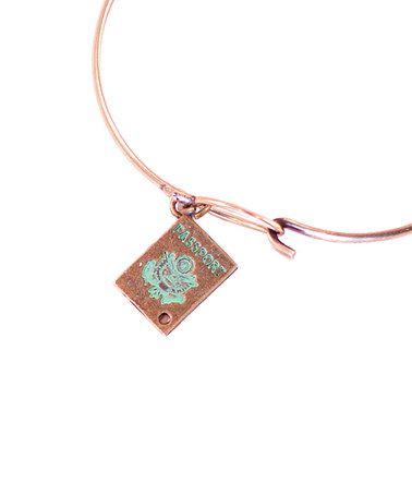 Another great find on #zulily! Mint Passport Charm Bracelet #zulilyfinds
