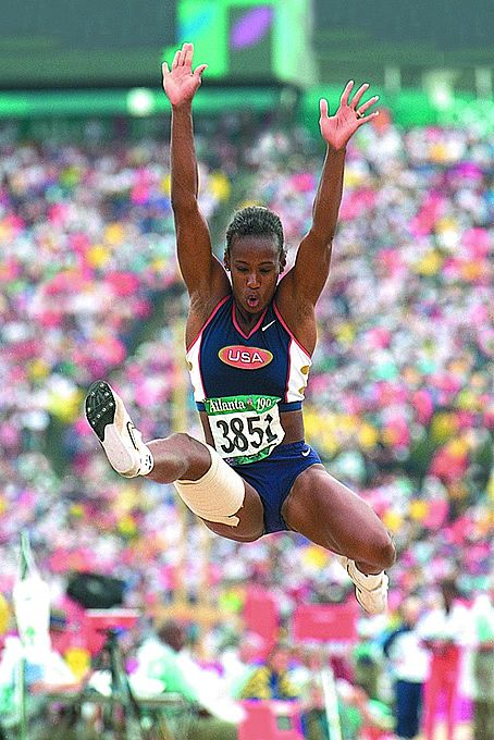 Jackie Joyner-Kersee  Won 3 Gold medals in 4 Olympics  Heptathelete and long jumper