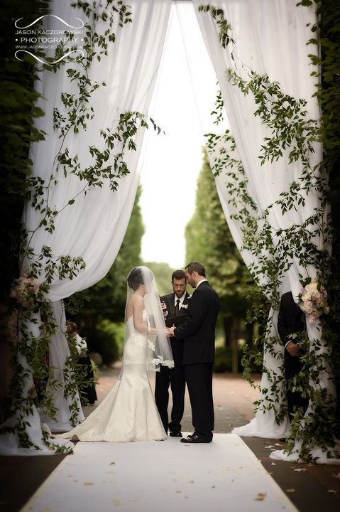 how to describe a wedding ceremony