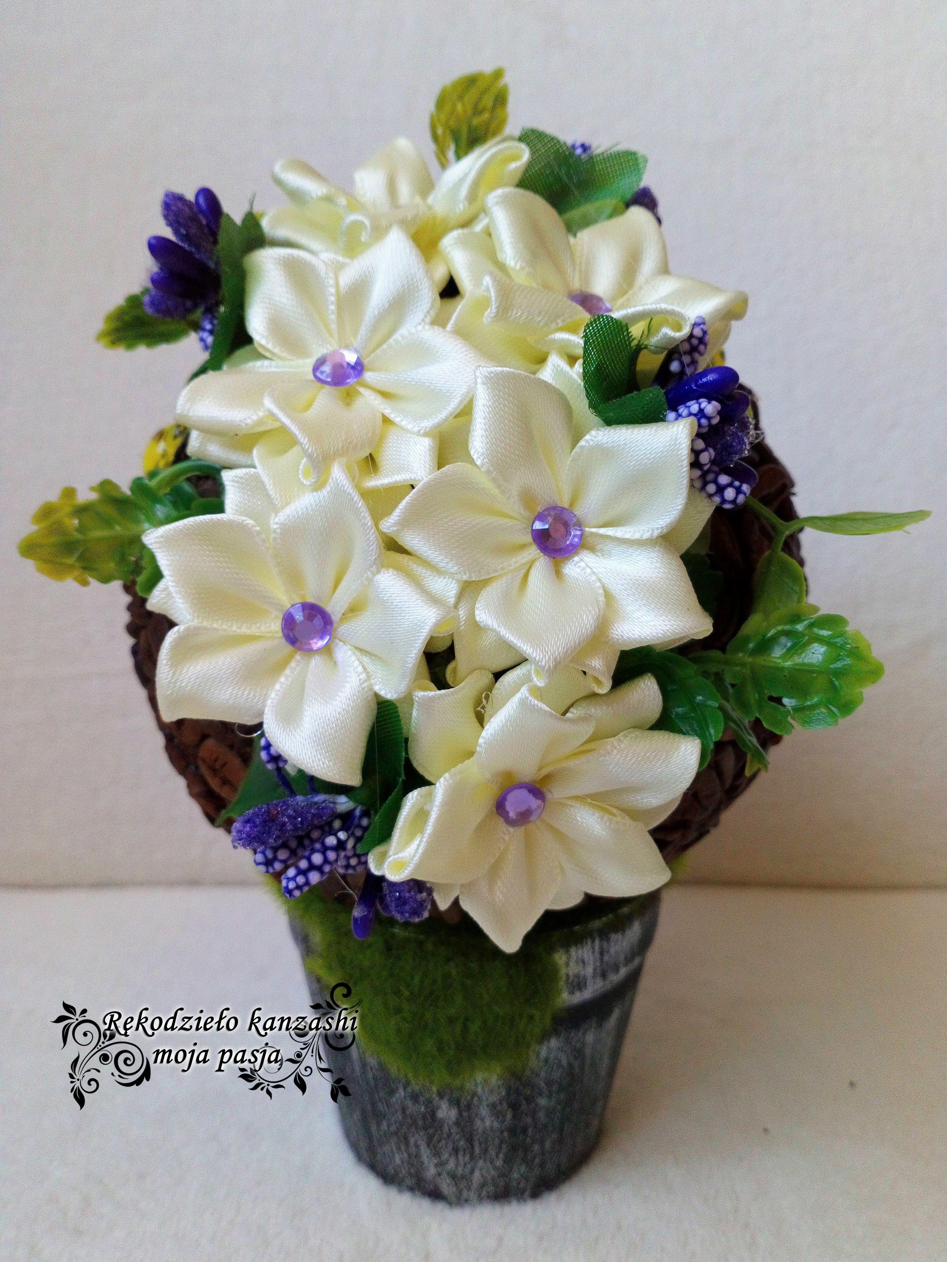 Flower Box Kawowy Na Doniczce Home Decor Decor Vase