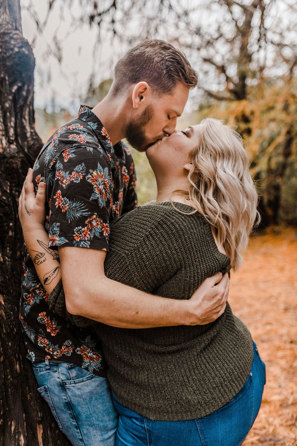 Photo of Verlobungsfotos fallen | Plus Size Engagement Fotos | Herbst-Outfits