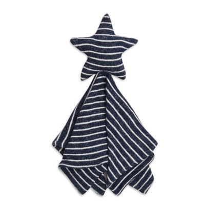 Aden + Anais Aden Snuggle Knit Security Blanket In Navy #securityblankets