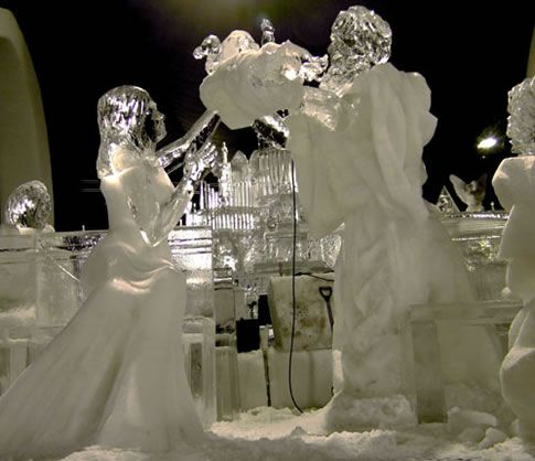 Simeon Anne Ice Sculpture