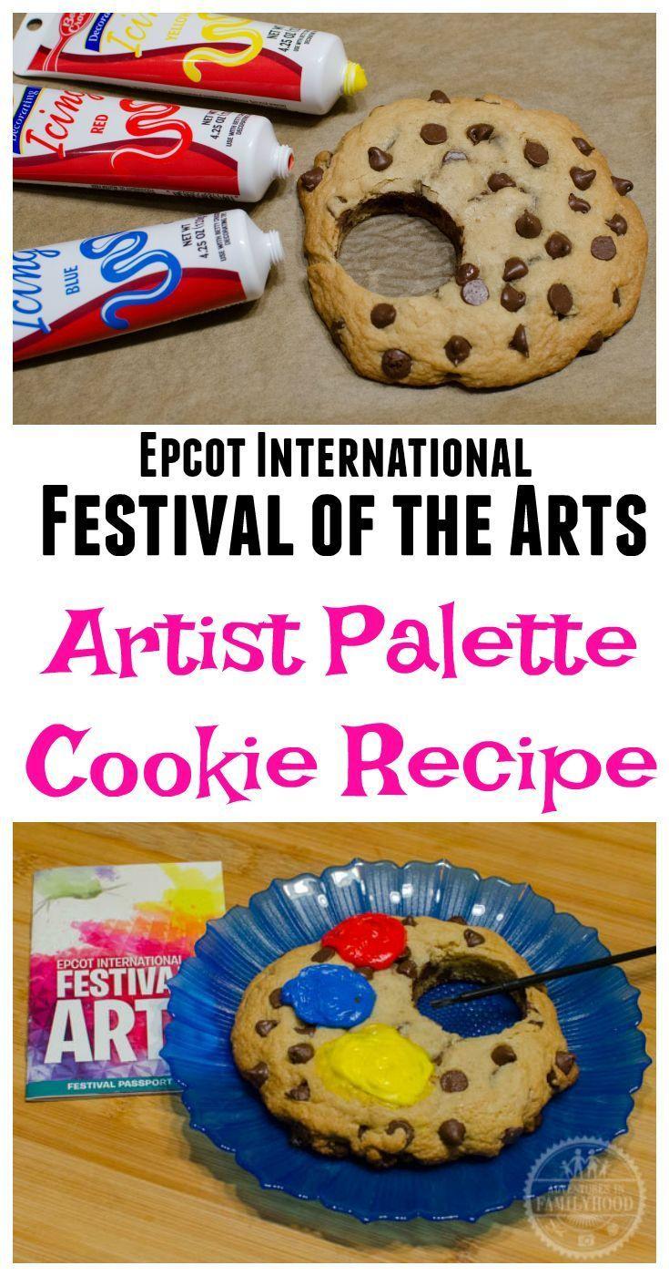 Artist Palette Chocolate Chip Cookie Recipe Epcot