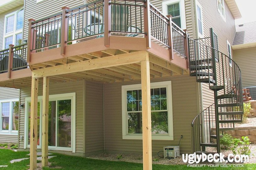 Spiral Staircase For Deck #For Check More At Http://staircasedesign.xyz