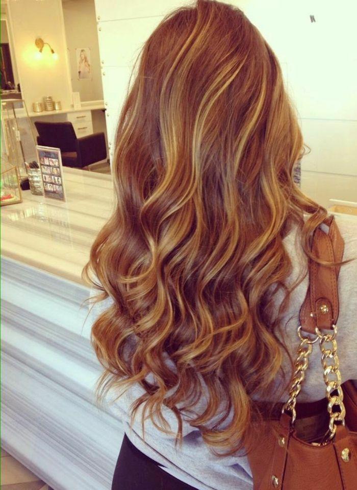la couleur de cheveux caramel de nouveau la mode la mode and caramel - Coloration Caramel Miel