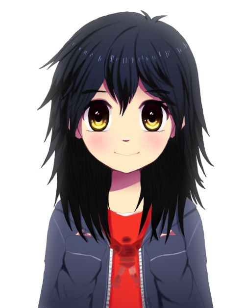 I'm Helayna Hamada. I'm Hiro's twin sister that wasn't mentioned...at all! I love robotics and bot fighting. I attend 'nerd school' and love it! Nice to meet ya!