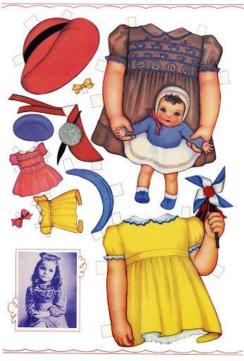 Paper Dolls~Carolyn Lee QH - Bonnie Jones - Picasa Web Albums