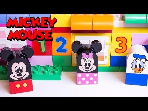 Lego Duplo Mickey Mouse Clubhouse Construction Toys Megabloks Disney Junior Minnie Mouse Duplo Mickey Mouse Lego Duplo Mickey Mouse Clubhouse