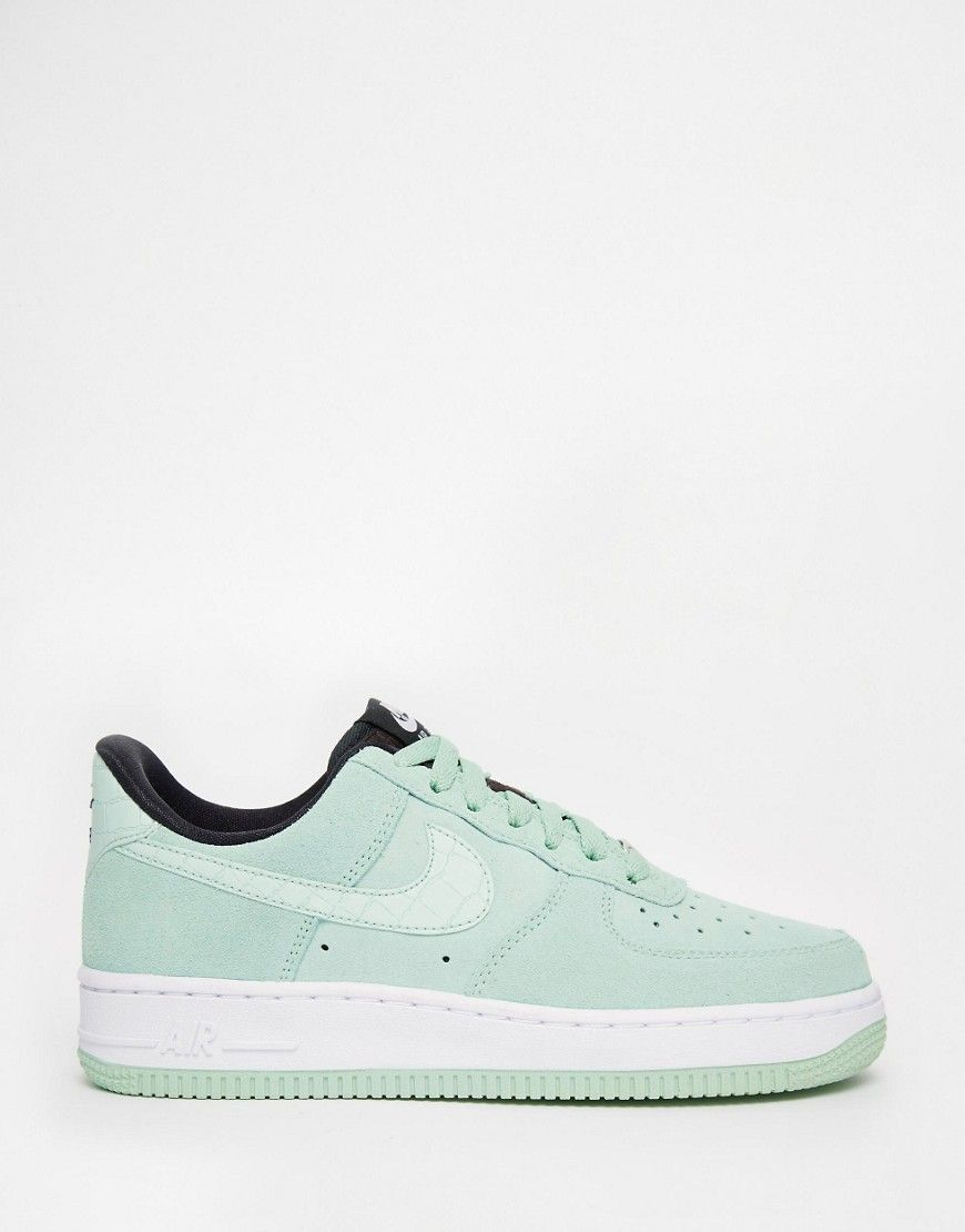 Nike - Air Force 1'07 - Baskets en daim - Vert émeraude | Scarpe