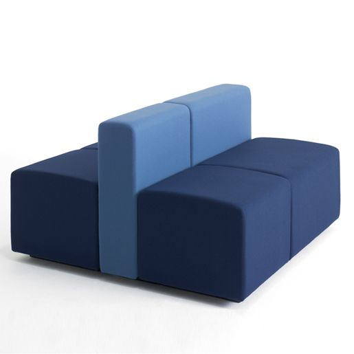Lobby modular sofa system by Bønnelycke Arkitekter for +HALLE ...