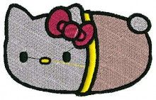 Infant Kitty - Machine Embroidery Designs