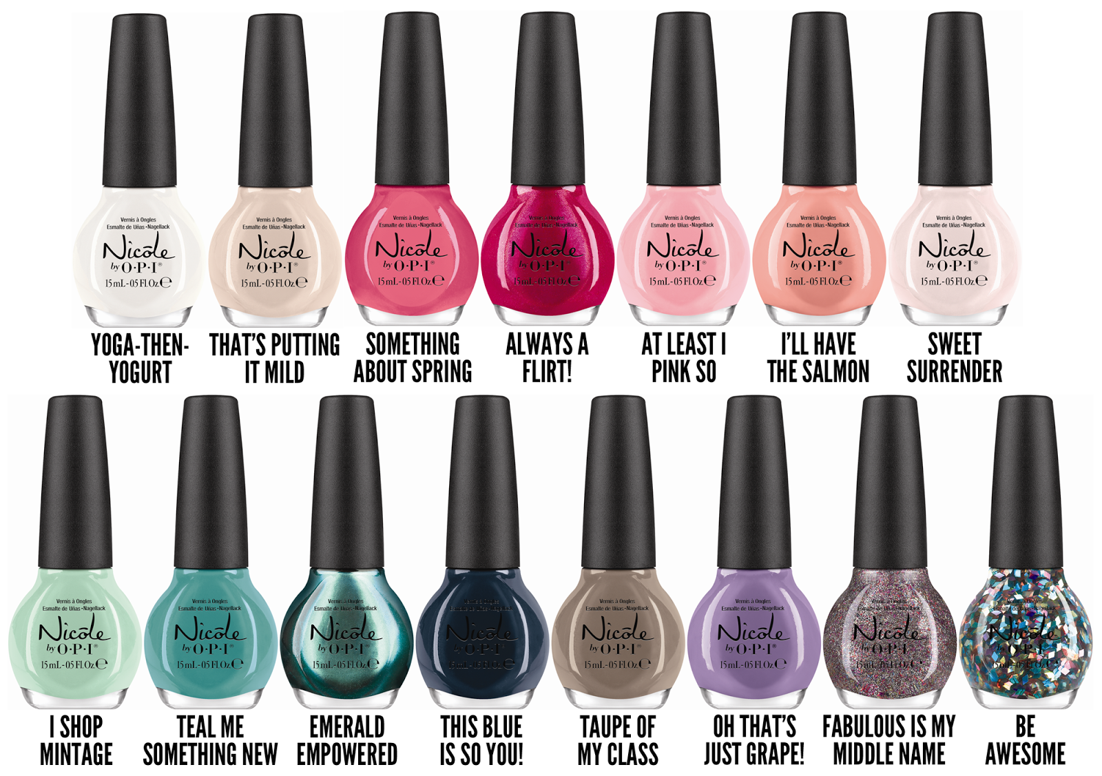 Nicole by OPI Launches New Nail Lacquers for 2014 | Chalkboard nails ...
