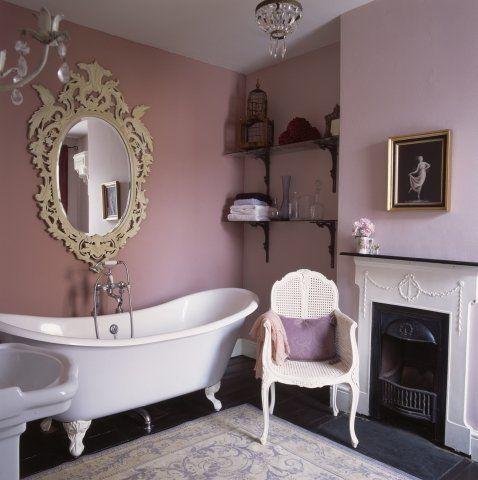 łazienka Retro Galeria Zdjęcie Bathroom Glamorous