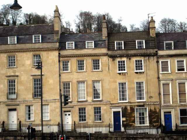 Going To Bath With Jane Austen Terrace House Georgian Terrace