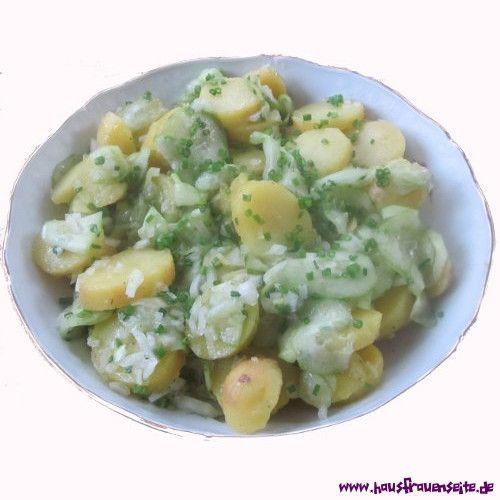 Bayerischer Kartoffel- Gurkensalat   Rezept ...