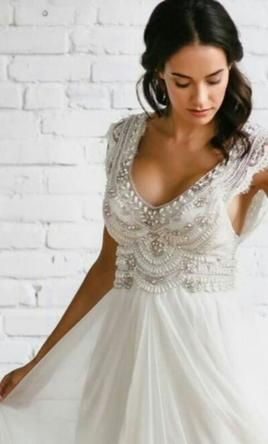 Anna Campbell Coco 2 500 Size 4 New Un Altered Wedding
