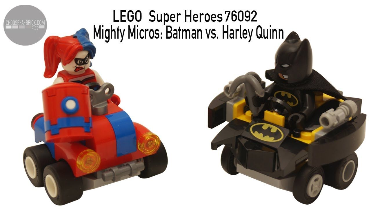 LEGO 76092 Batman vs Harley Quinn Mighty Micros DC Comics Speed