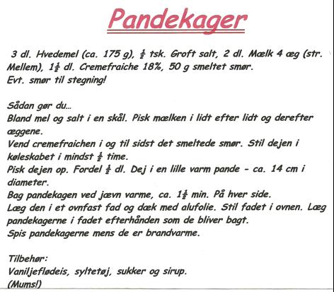 Lisas Pandekager (Verdens bedste)