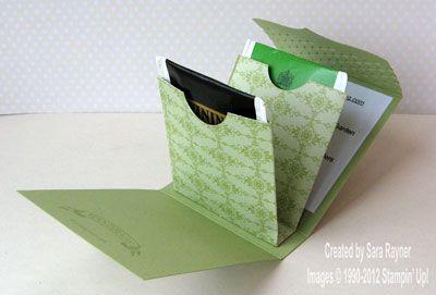 Inspiration: tea for two - teabag holder.