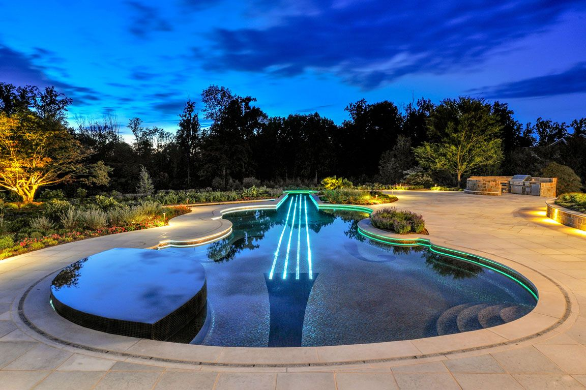 images about guitar shaped luxury swimming pool on pinterest with swimming pool design. beautiful ideas. Home Design Ideas