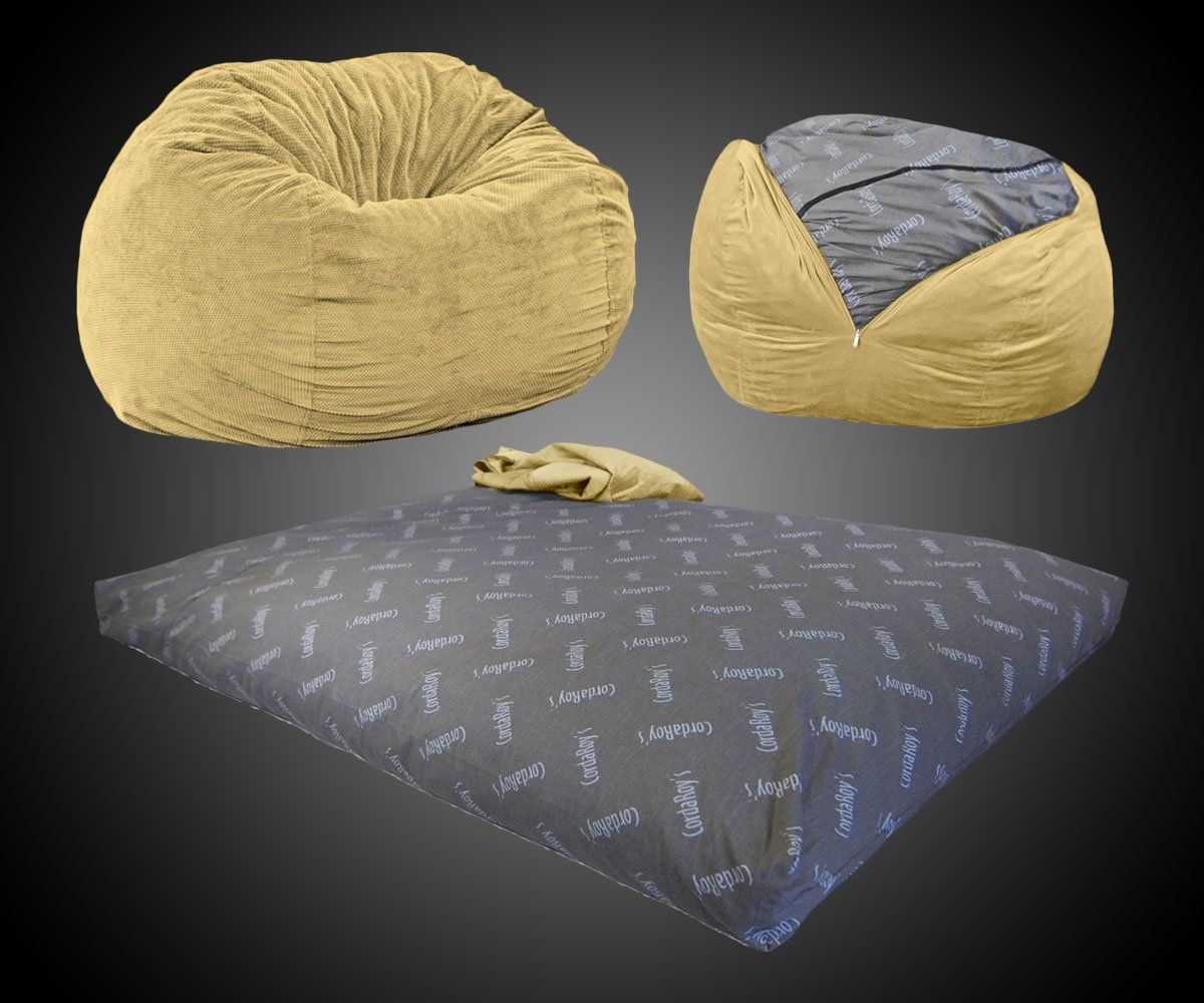 Terrific Convertible Bean Bag Chair Bed Dudeiwantthat Com Neat In Ibusinesslaw Wood Chair Design Ideas Ibusinesslaworg