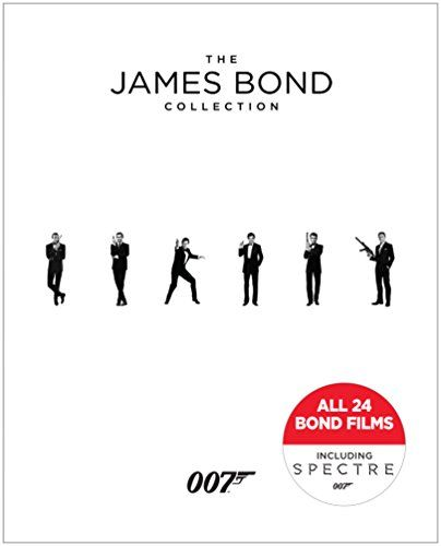 Top 10 James Bond Collection Blu Ray Of 2019 James Bond All
