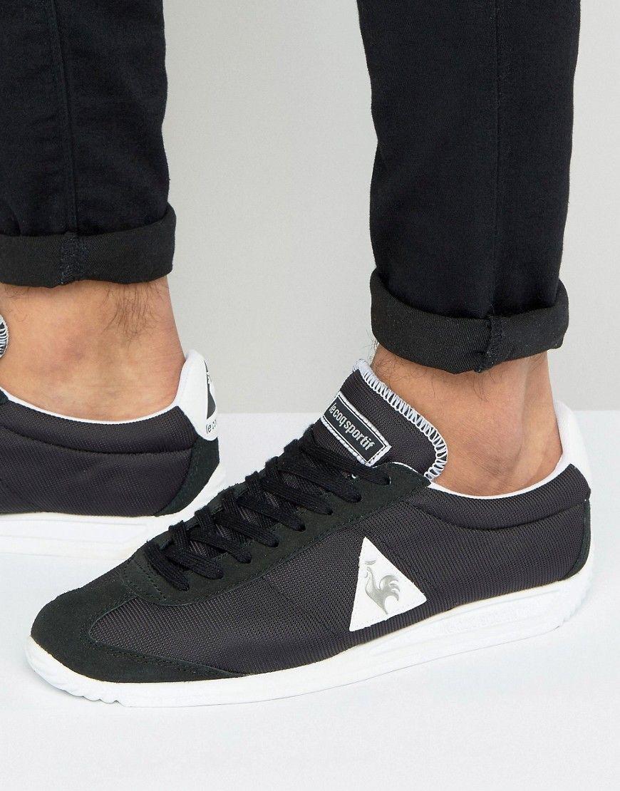 d48dcda76c81 LE COQ SPORTIF QUARTZ SNEAKERS IN BLACK 1710033 - BLACK.  lecoqsportif   shoes