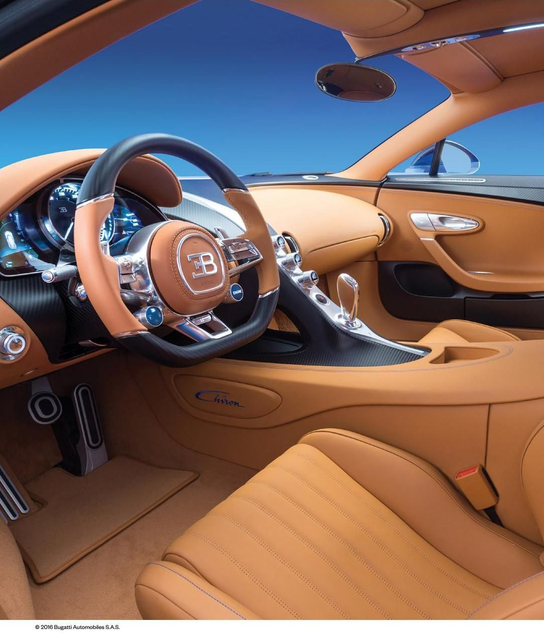 Chiron Super Sport Speedster Looks Like The Veyron: Bugatti Chiron Interior, Bugatti