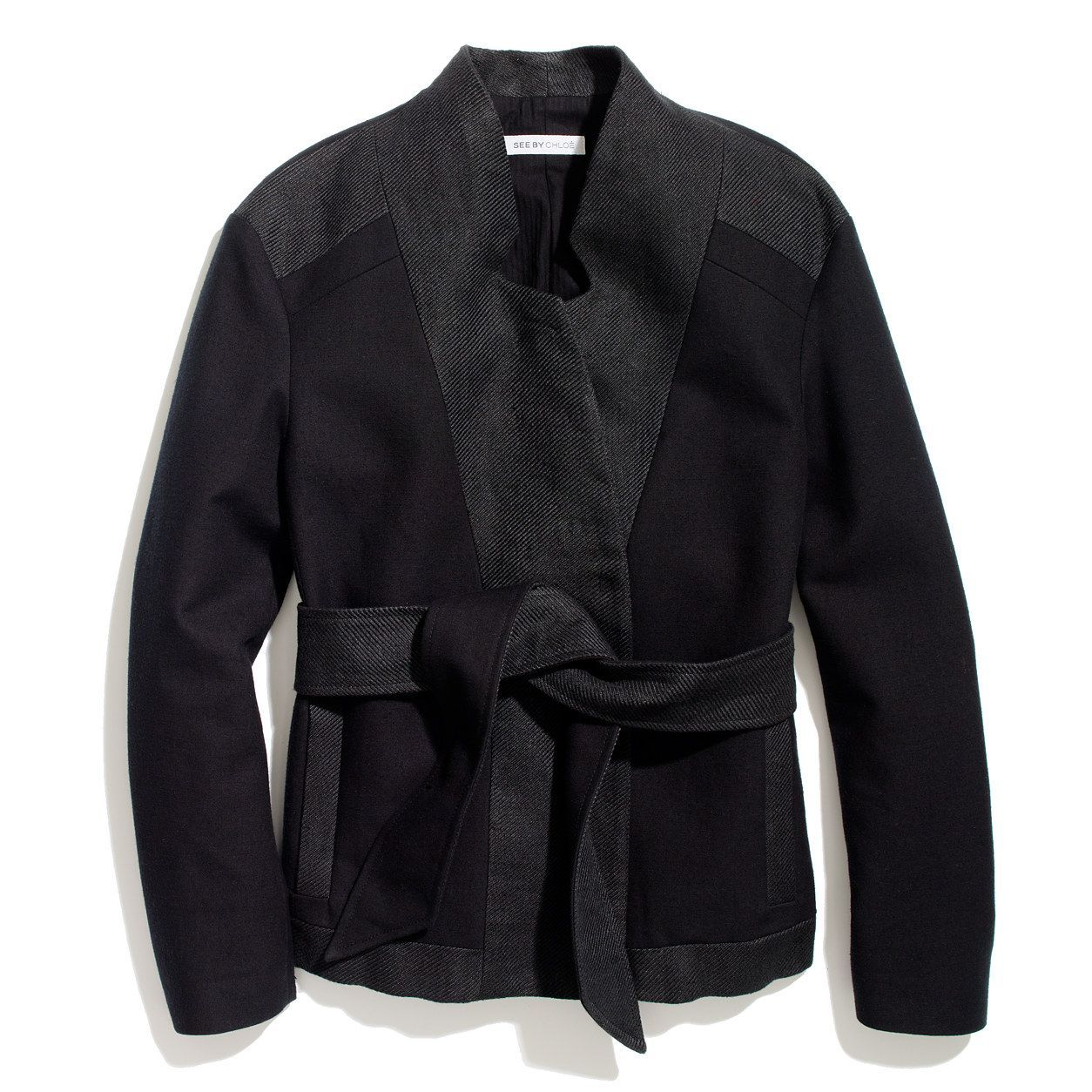 Madewell See By Chloé Jacket Collarless jacket, Jackets